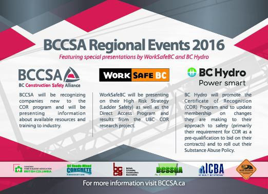 BC Construction Safety Alliance – Vancouver Regional Event
